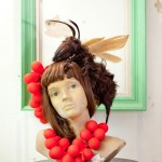 Wasp hair piece